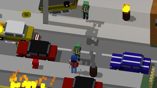 Code Triche The Crossing Dead: Crossy Zombie Apocalypse Road APK MOD (Astuce) screenshots 1