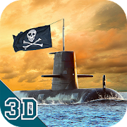 Pirate Submarine Simulator 3D