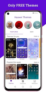 Free EMUI themes for Huawei and Honor 1.8.8