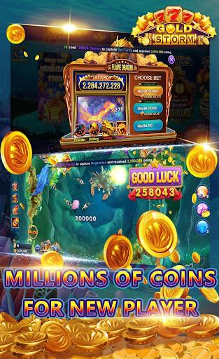 Gold Storm Casino - Asian Fishing Arcade Carnival 1.0.39 screenshots 3
