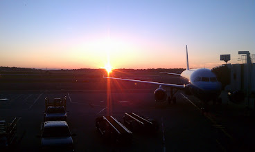 Photo: Logan Airport at 5am