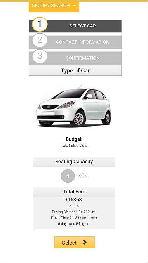 HireMeCar – Car Rental Booking- screenshot