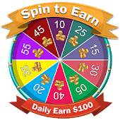 Spin to Win : Daily Earn 100$