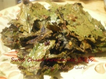 Swiss Chard Firecracker Chips Recipe