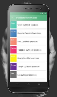 Abs and dumbbells workout, the gym fitness guide - náhled