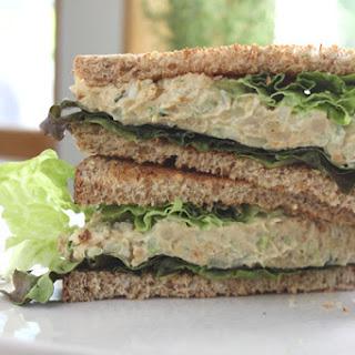 Chickpea Mock Tuna Salad Sandwich
