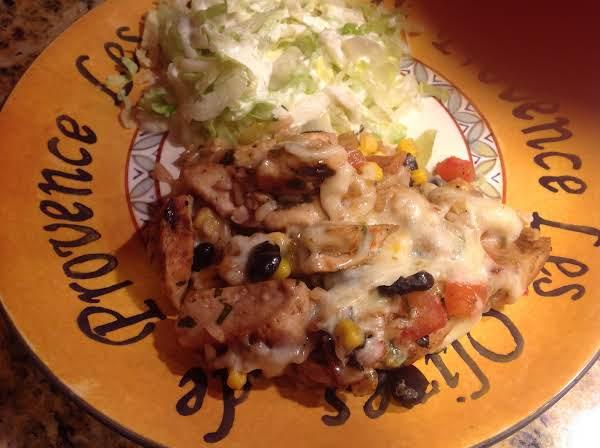 Santa Fe Chicken & Rice Recipe