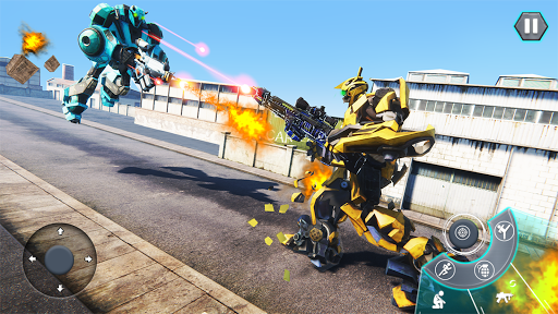 Us Army Robot FPS Shooting Strike Game 3D 2020 android2mod screenshots 7