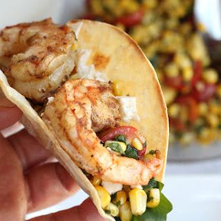 Grilled Shrimp & Corn Tacos.