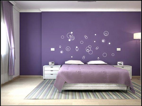 Colore lilla come usarlo per arredare casa | Camere da letto viola, Camere  viola, Camera da letto colorata
