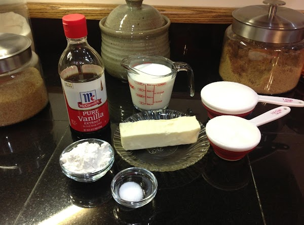 Gather all ingredients for frosting.