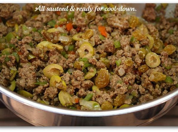 2. Season ground beef with oregano, salt, pepper and then add it to the...