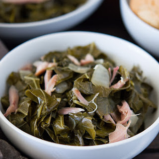 Slow Cooker Southern Collard Greens.