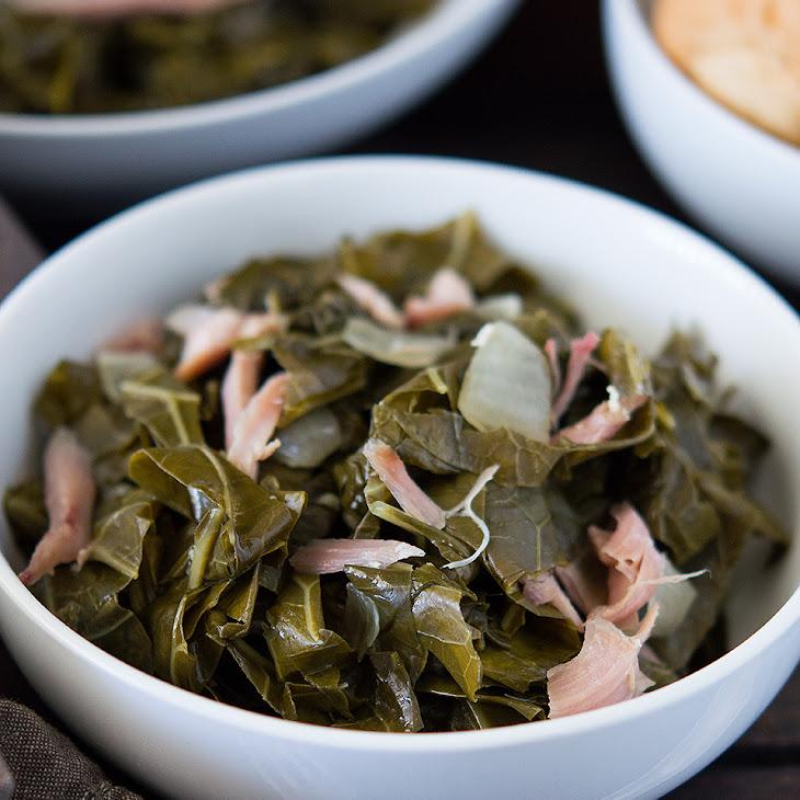 Slow Cooker Southern Collard Greens Recipe