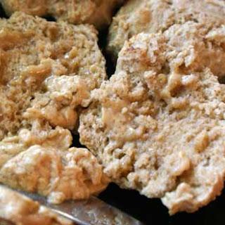 Cinnamon Honey Butter Drop Biscuits