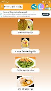 Recetas del chef for PC-Windows 7,8,10 and Mac apk screenshot 5