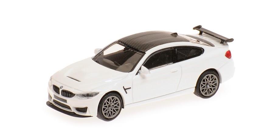 1:18 GT Spirit BMW 1series M Coupe E82 2013 matt-grey