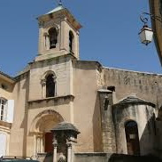 photo de église de Lourmarin