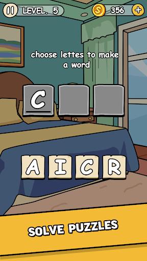 Words Secret- addicting games  captures d'écran 2