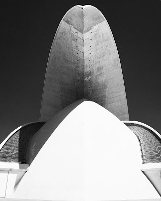 Auditorium Santa Cruz de Tenerife di Alessandro Bonesso