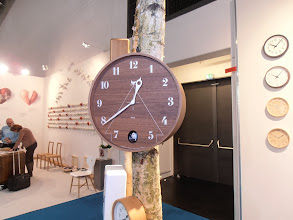 Photo: Cuckoo clock, Lemnos, Japan www.lemnos.jp #ambiente14
