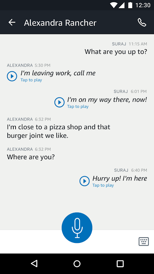 Amazon Alexa- screenshot