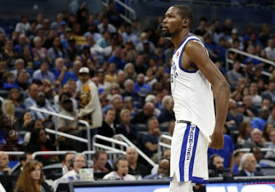 Kevin Durant neemt Golden State Warriors net als vorig jaar op sleeptouw