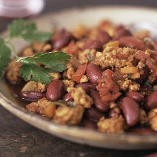 Vegan Tempeh Chili.