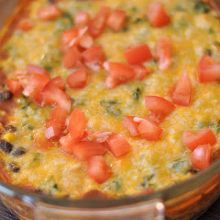 Fiesta Chicken Enchilada Dip