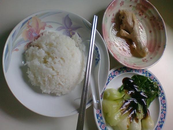Steamed Chicken Rice Recipe