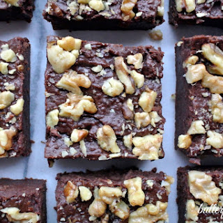 Super Fudgy Fruit Sweetened Brownies -Made In Your Food Processor.