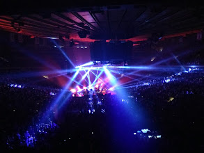 Photo: Great live music!  Here, the Killers at MSG.