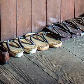 Old Coffee Farmer Shoes by Joseph Vittek - Artistic Objects Industrial Objects ( coffee, farm )