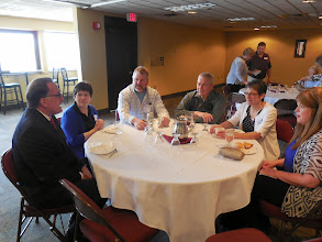 Photo: Guests enjoy good food and good company