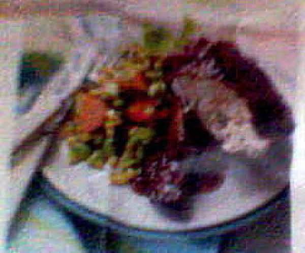 Crock Pot Barbecue Turkey W/ Corn Salad