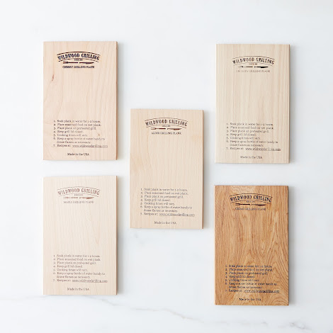 Grill Planks Sampler Pack (Set of 5)