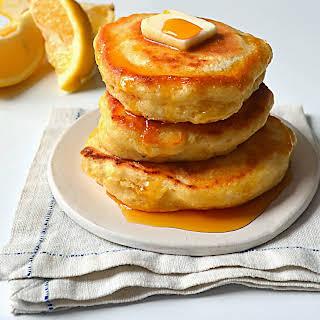 Fluffy Lemon Ricotta Pancakes.