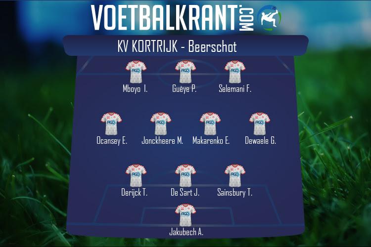 KV Kortrijk (KV Kortrijk - Beerschot)