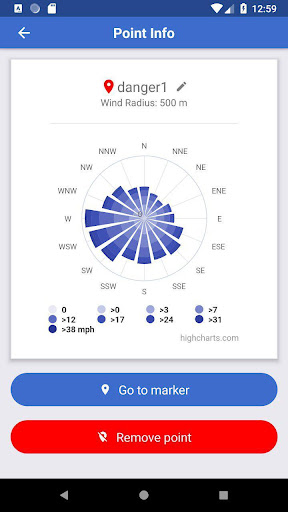 Screenshot for Wind Map in United States Play Store