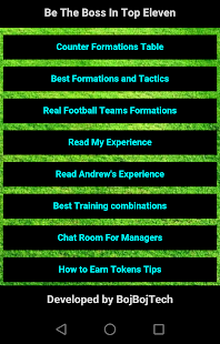 App Tips for Top Eleven 2018 APK for Windows Phone