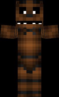 Freddy Nova Skin - Freddie skins fur minecraft