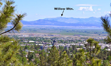 Photo: As viewed from the hills south of Helena