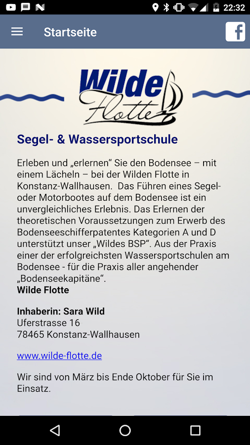 Wildes Bodenseeschifferpatent- screenshot