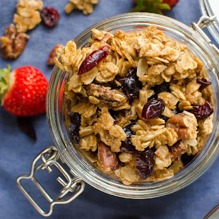 Maple Pecan Spice Granola Recipe