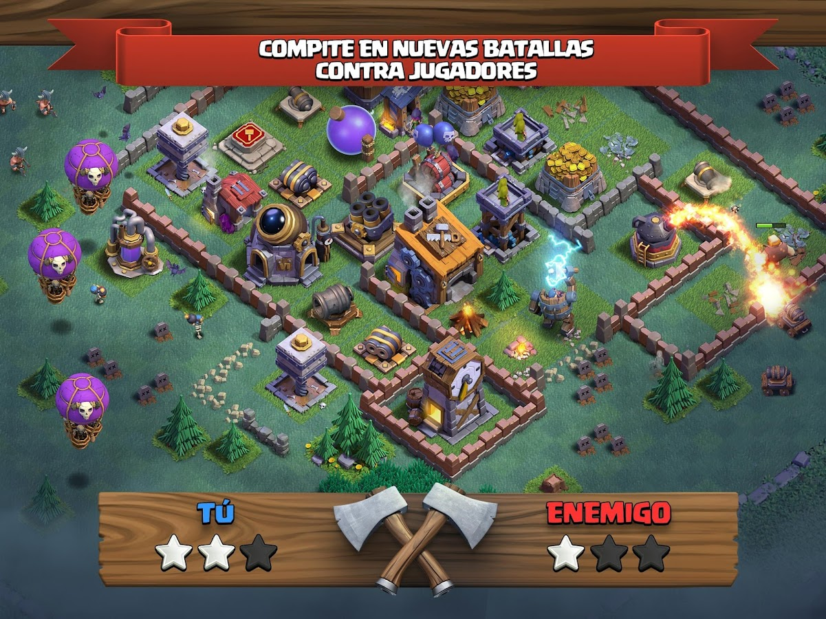 Clash of Clans: captura de pantalla