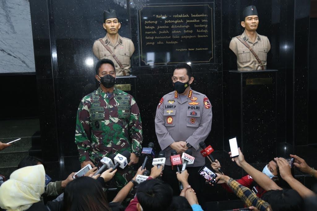 Kapolri Mengunjungi Kepala Staf Angkatan Darat