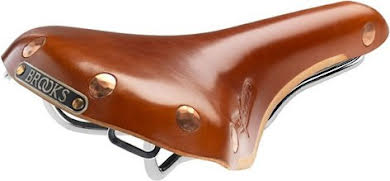 Brooks Swift Saddle w/Chrome Steel Rail alternate image 1