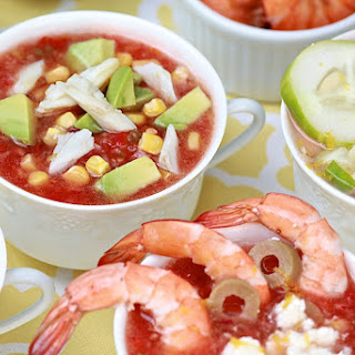 Classic Gazpacho (with optional toppings bar)