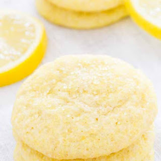 Sugar Crusted Lemon Cookies.