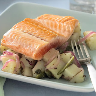 Trout with Warm Potato Salad